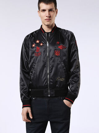 DVL-BOMBER-RE, Black