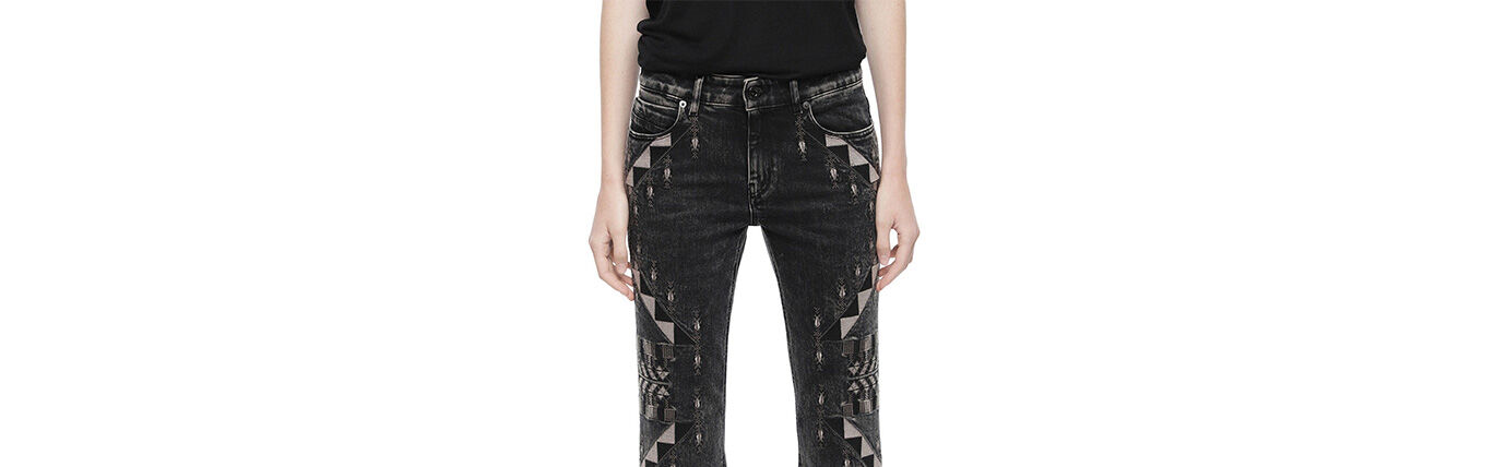 Denim Woman Diesel Black Gold