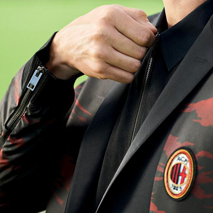 DIESEL SPECIAL COLLECTION: AC MILAN NEW UNIFORM