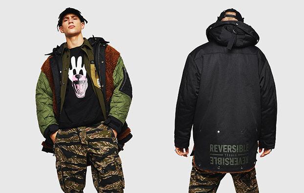 W-PELSTIC, Black - Winter Jackets