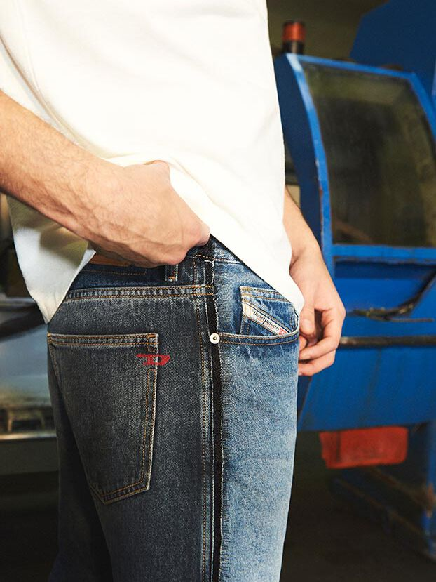 D-Macs 009HX, Medium blue - Jeans