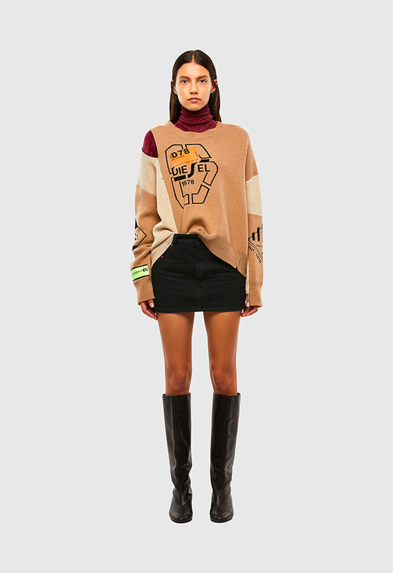 M-ALYCIA, Beige - Knitwear