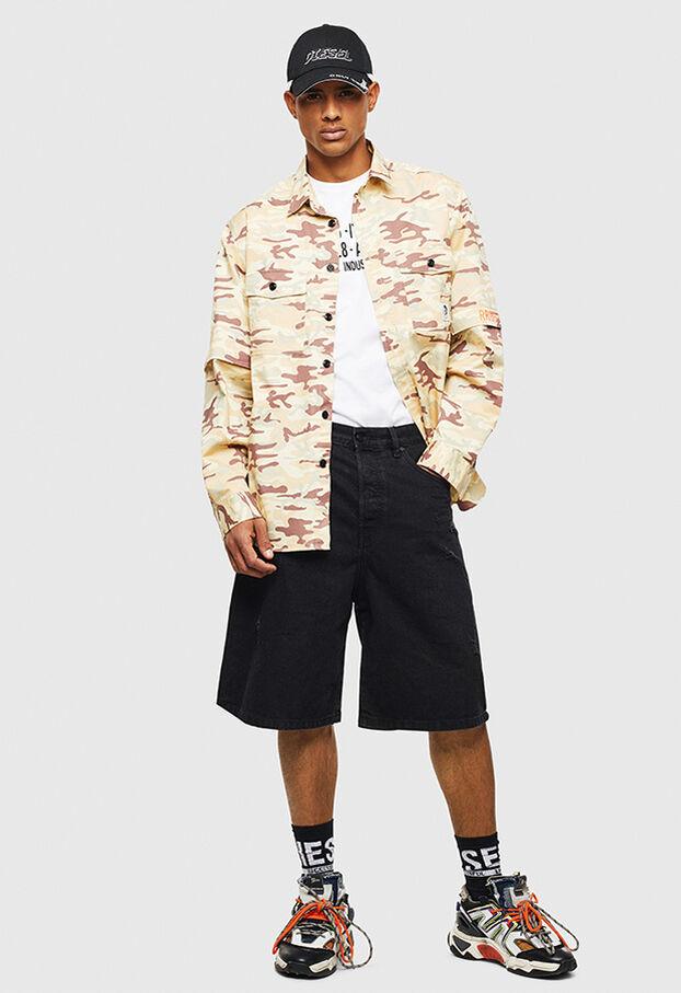 D-BRON, Black/Dark grey - Shorts