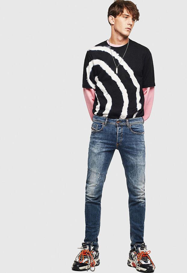 Sleenker 069LI, Dark Blue - Jeans