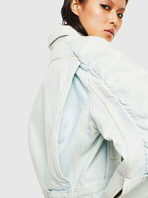DE-MERYL-R, Light Blue - Denim Jackets