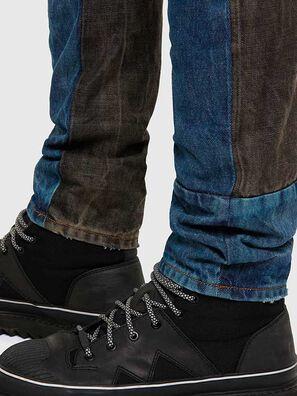 D-Kras 009EA, Black/Dark grey - Jeans