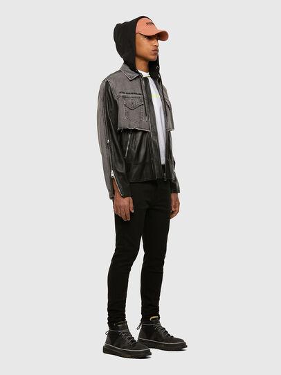 Diesel - D-Amny 009HB, Black/Dark grey - Jeans - Image 6