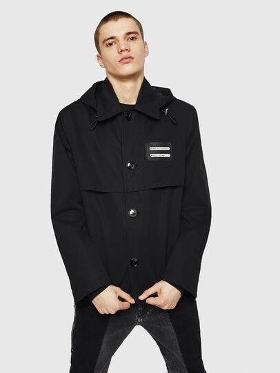 Diesel - J-KODORY, Black - Jackets - Image 6