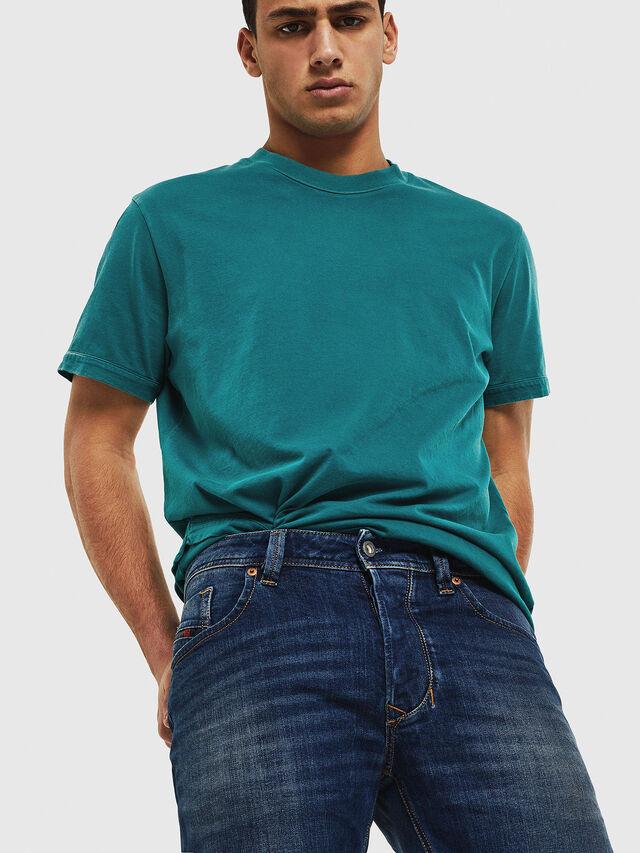 Diesel - Larkee 087AW, Dark Blue - Jeans - Image 3