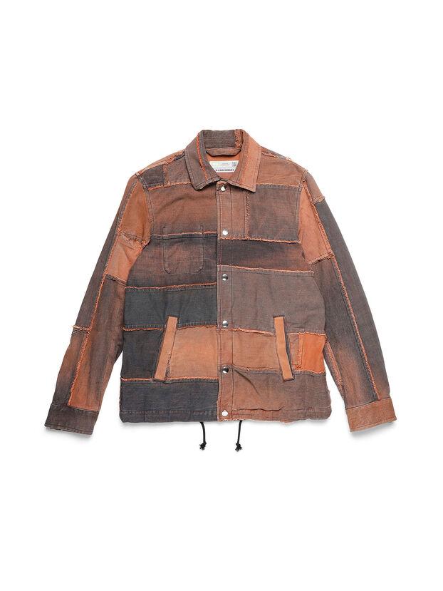 D-COACINQUE5, Orange - Denim Jackets