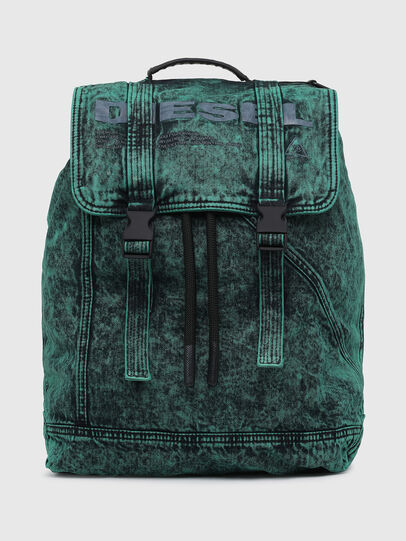 Diesel - GRAFYTI BACK, Green - Backpacks - Image 1