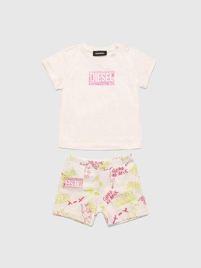 Diesel - SILLIN-SET-NB, White/Pink - Jumpsuits - Image 1