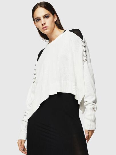 Diesel - M-NETTY, White - Knitwear - Image 1