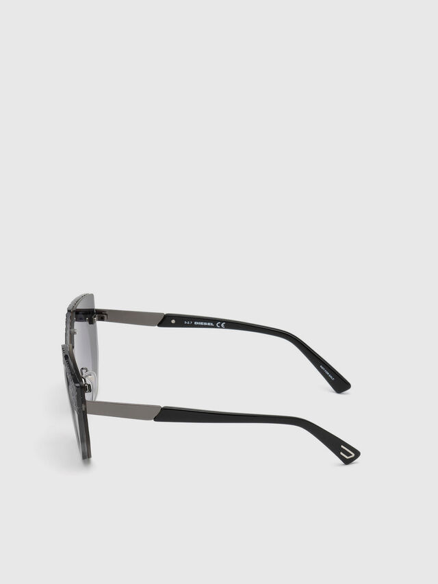 Diesel - DL0258, Grey - Sunglasses - Image 2
