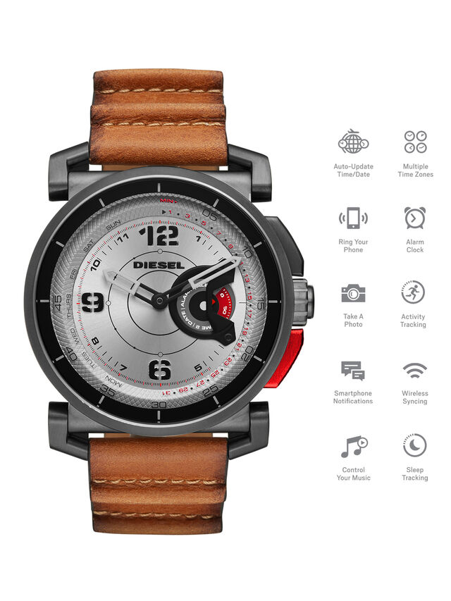 Diesel - DT1002, Brown - Smartwatches - Image 1