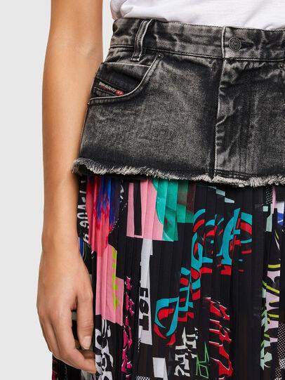 Diesel - O-ZOWIE-PRINT, Black - Skirts - Image 3