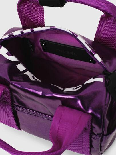 Diesel - F-BOLD MINI, Lilac - Satchels and Handbags - Image 5