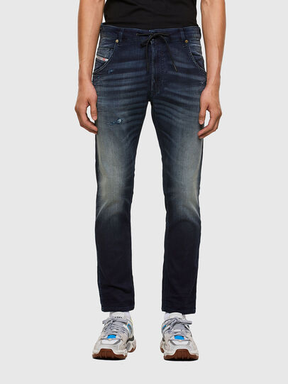 Diesel - Krooley JoggJeans 069QD, Dark Blue - Jeans - Image 1