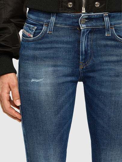 Diesel - Slandy 009CX, Medium blue - Jeans - Image 3