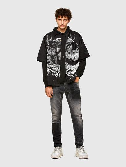 Diesel - S-WOLF, Black - Shirts - Image 5