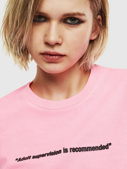 Diesel - T-JUST-NEON, Pink - T-Shirts - Image 6