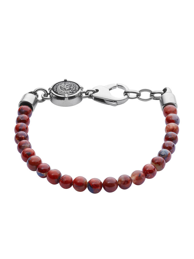 Diesel - BRACELET DX1042, Red - Bracelets - Image 1