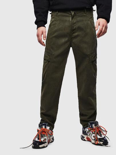 Diesel - D-Krett JoggJeans® 069LX, Military Green - Jeans - Image 1