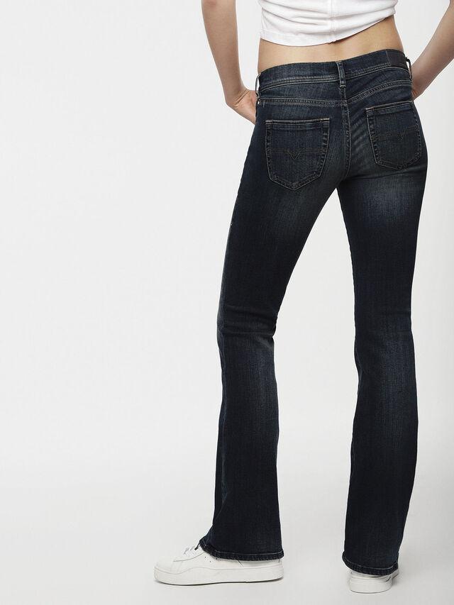 Diesel - Lowleeh 0814W, Dark Blue - Jeans - Image 2