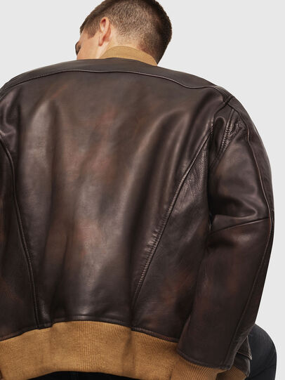 Diesel - L-OIUKI,  - Leather jackets - Image 3