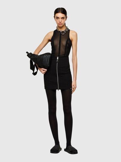 Diesel - O-STRIT, Black - Skirts - Image 4