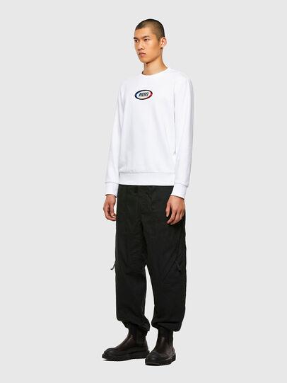 Diesel - S-GIRK-N85, White - Sweaters - Image 4