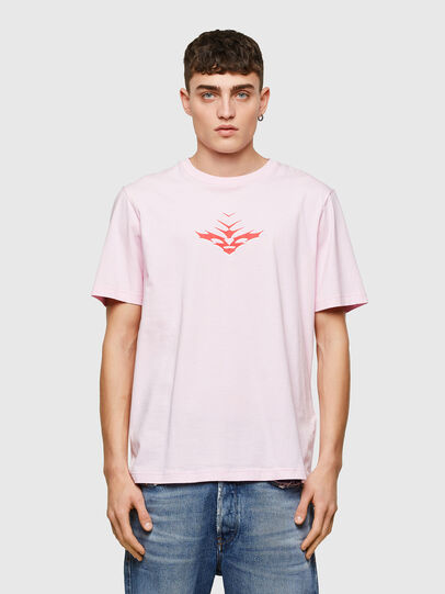 Diesel - T-JUST-E14, Face Powder - T-Shirts - Image 1