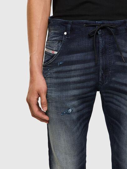 Diesel - Krooley JoggJeans 069QD, Dark Blue - Jeans - Image 3