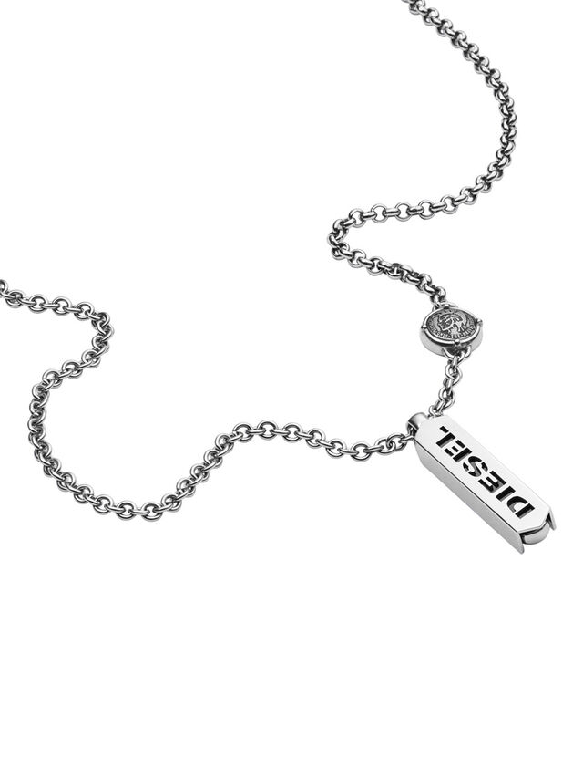 NECKLACE DX0997, Silver