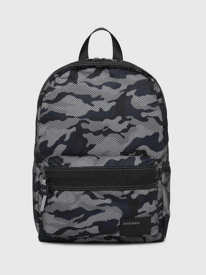 Diesel - MIRANO, Grey/Blue - Backpacks - Image 1