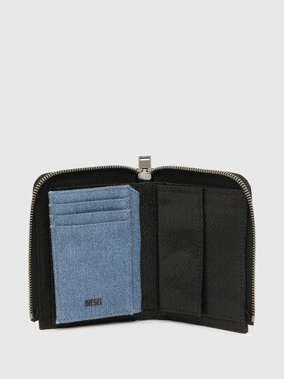 Diesel - L-12 ZIP, Black/Blue - Small Wallets - Image 4