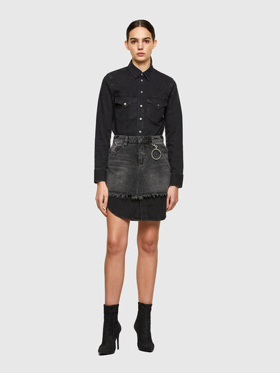 Diesel - DE-DESY-C, Black - Dresses - Image 1