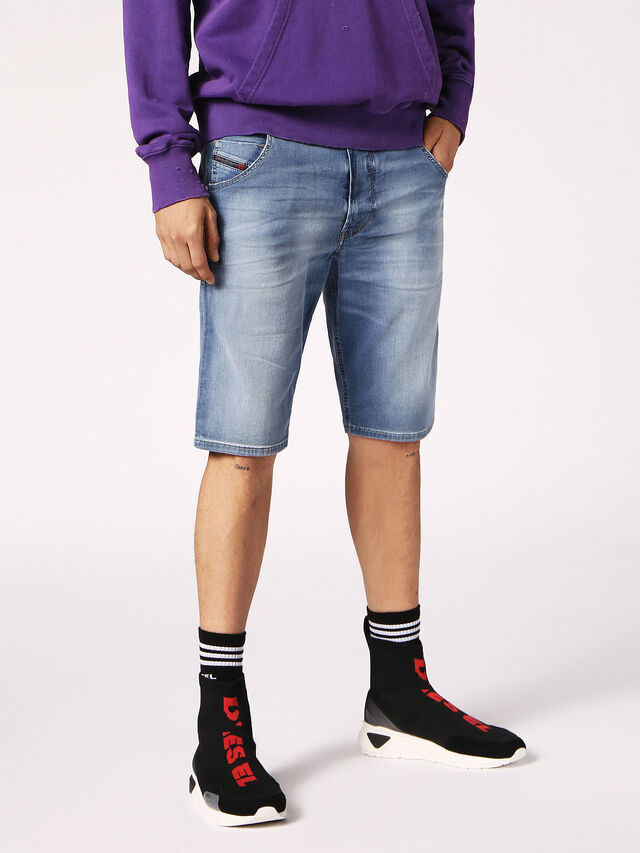 KROOSHORT JOGGJEANS, Light Blue