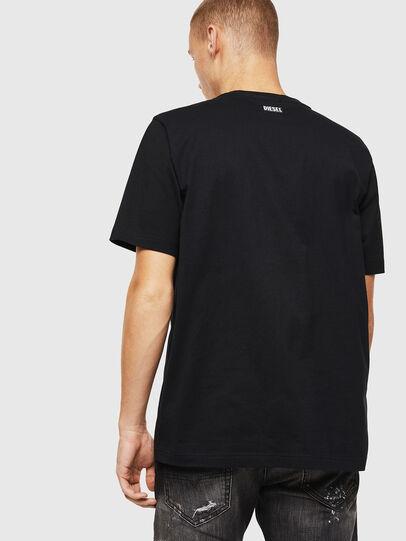 Diesel - T-JUST-J13, Black - T-Shirts - Image 2