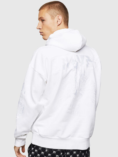 Diesel - S-ALBY-B5, White - Sweaters - Image 2