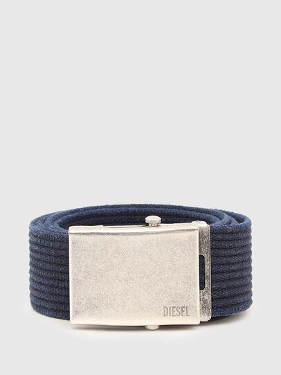 Diesel - B-COMBA, Blue - Belts - Image 1