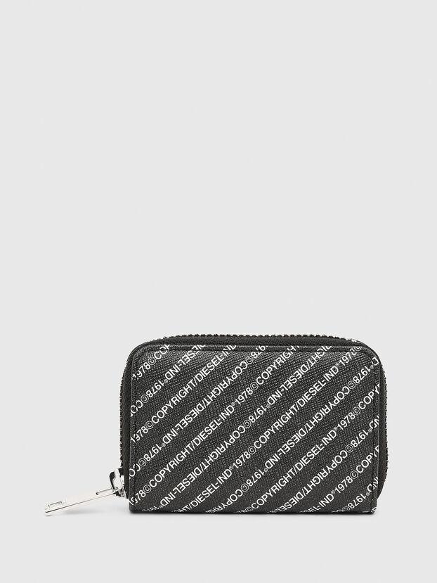 JAPAROUND, Black/White - Zip-Round Wallets