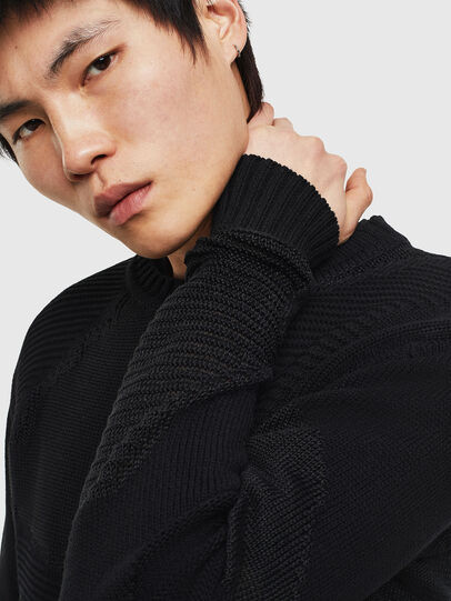 Diesel - K-CAMMY, Black - Knitwear - Image 4