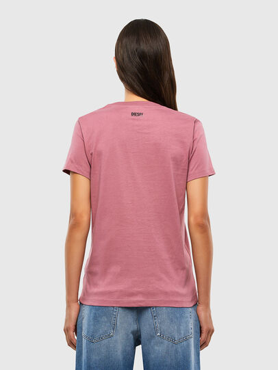 Diesel - T-SILY-V20, Pink - T-Shirts - Image 2