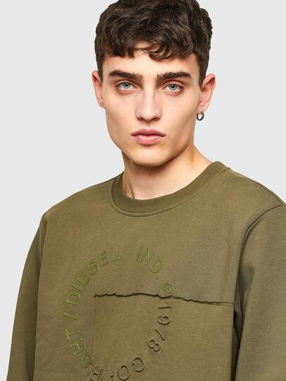 Diesel - S-GIRKEMB, Military Green - Sweaters - Image 3