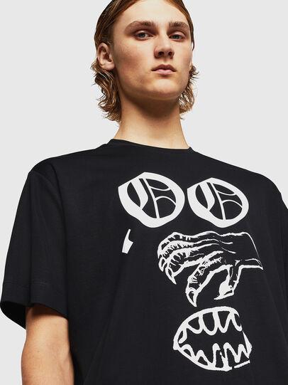 Diesel - TEORIALE-X2, Black - T-Shirts - Image 4