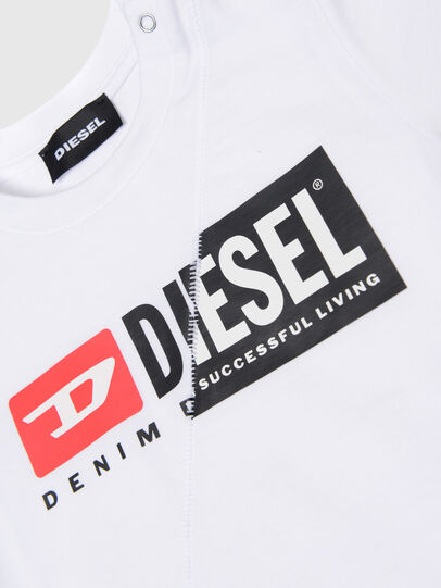 Diesel - TDIEGOCUTYB, White - T-shirts and Tops - Image 3