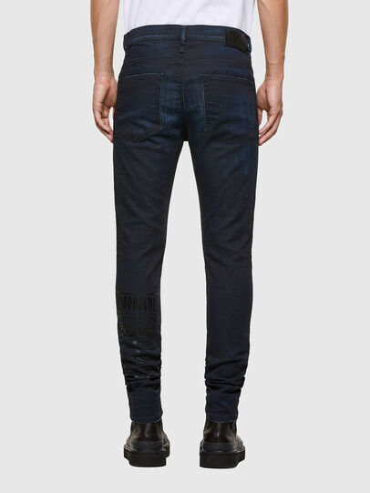 Diesel - D-REEFT JoggJeans® 069RB, Dark Blue - Jeans - Image 2