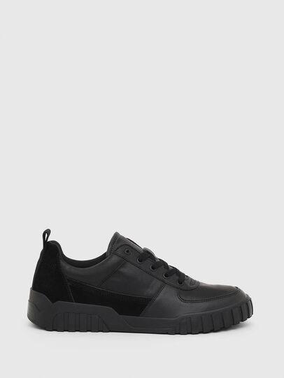 Diesel - S-RUA LOW, Black - Sneakers - Image 1