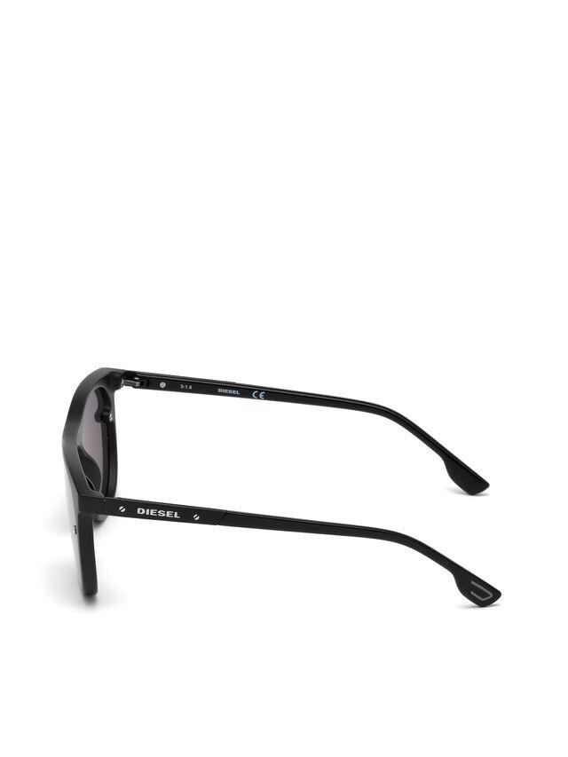 Diesel DL0217, Black - Eyewear - Image 3
